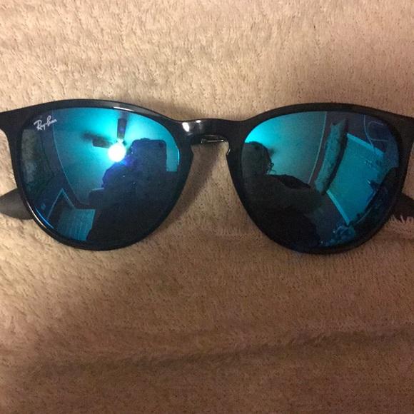 a9b76bb540 Ray Ban Blue Mirror Erika Sunglasses. M 5aa4b2ea31a3764fb5deb75d. Other  Accessories ...